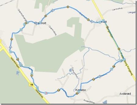 Løb Karlebo 20-02-2010