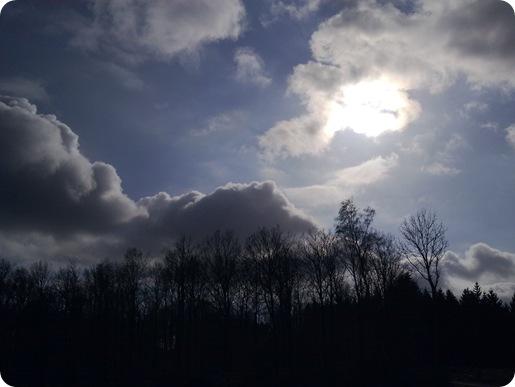Himlen over St. Dyrehave marts 2010