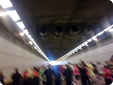Det sidste af tunnelen inden Peberholmen