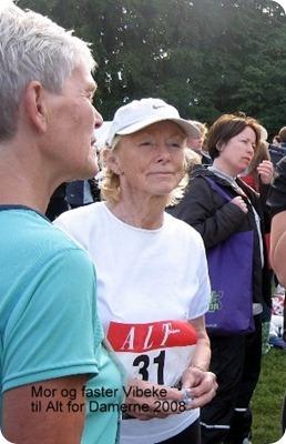 Mor og faster Vibeke til Alt for Damernes 2008